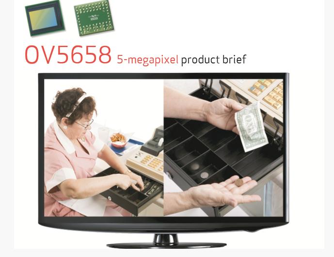 OVI 5658 CMOS CEICO-TECH AHD 5.0Mp