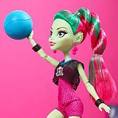 Кукла Венера Макфлайтрап Каскетбол в Магии кукол