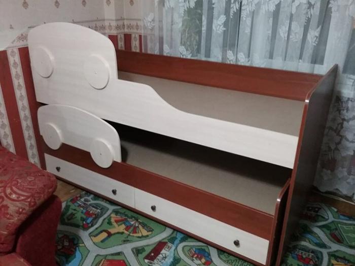 выкатная кровать дуэт-2