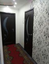 Дверь Сибирь Профиль Лилия, цвет венге, остекленная