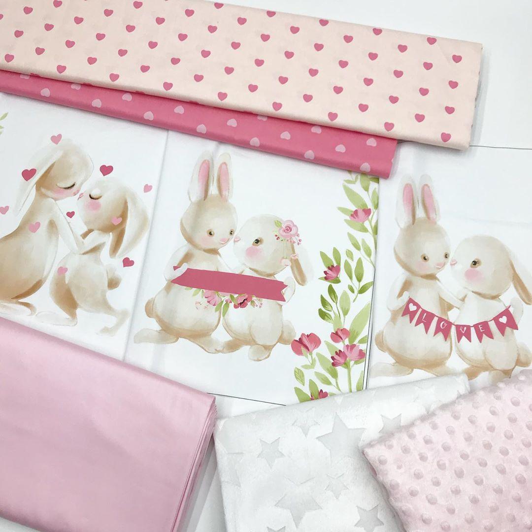 Ткани для пошива бортиков девочке