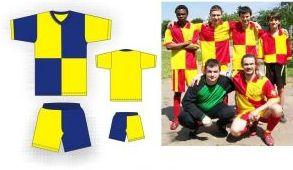 Форма футбольная производства Ателье
