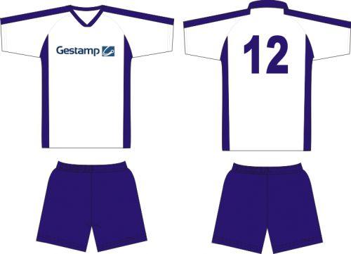 Форма футбольная с номером и логотипом