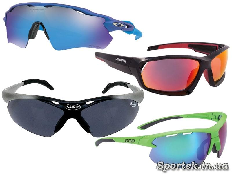 Вентиляция в велосипедных очках