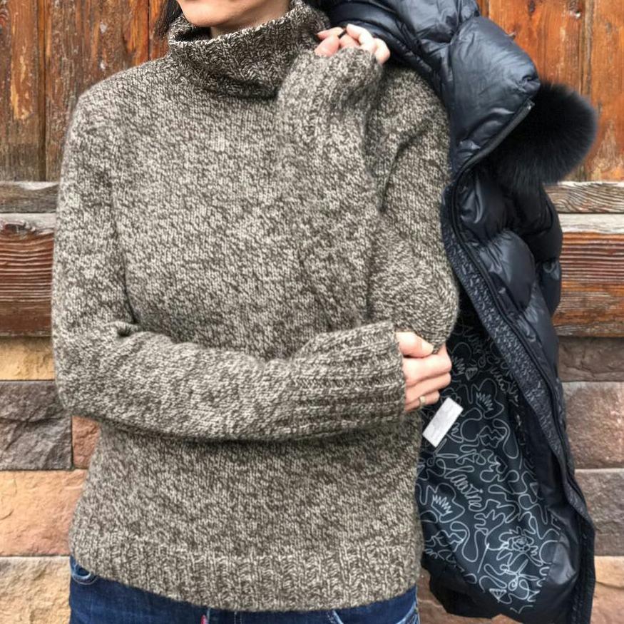 свитер из пуха яка