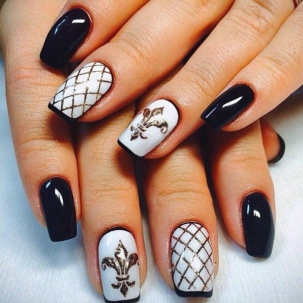 Лучший дизайн для коротких ногтей