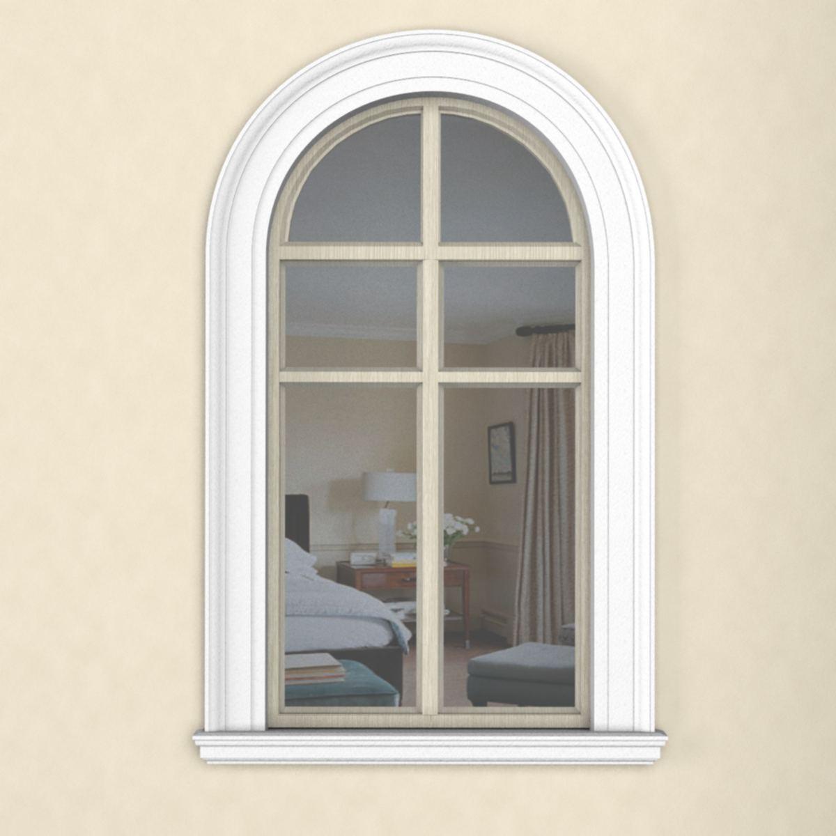 окно арочное