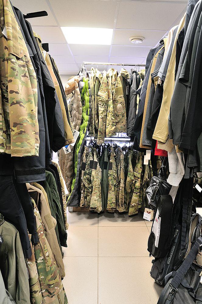 У нас несколько складов экипировки и снаряжения. Самый широкий выбор
