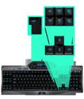 Straight keyboard layout