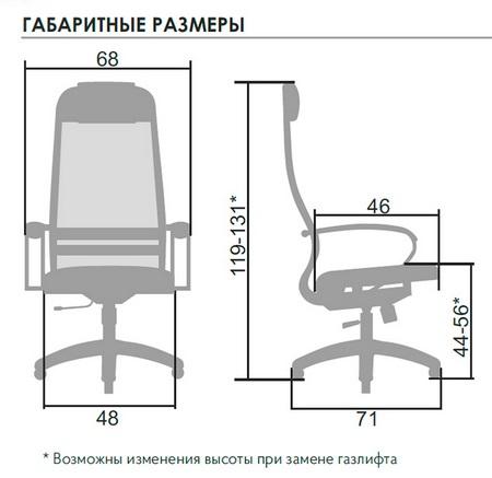ГАБАРИТНЫЕ РАЗМЕРЫ SU-1-BP комплект 4