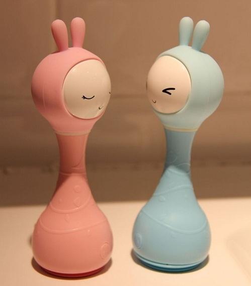 Музыкальные игрушки зайка Alilo R1 Розовый и Синий