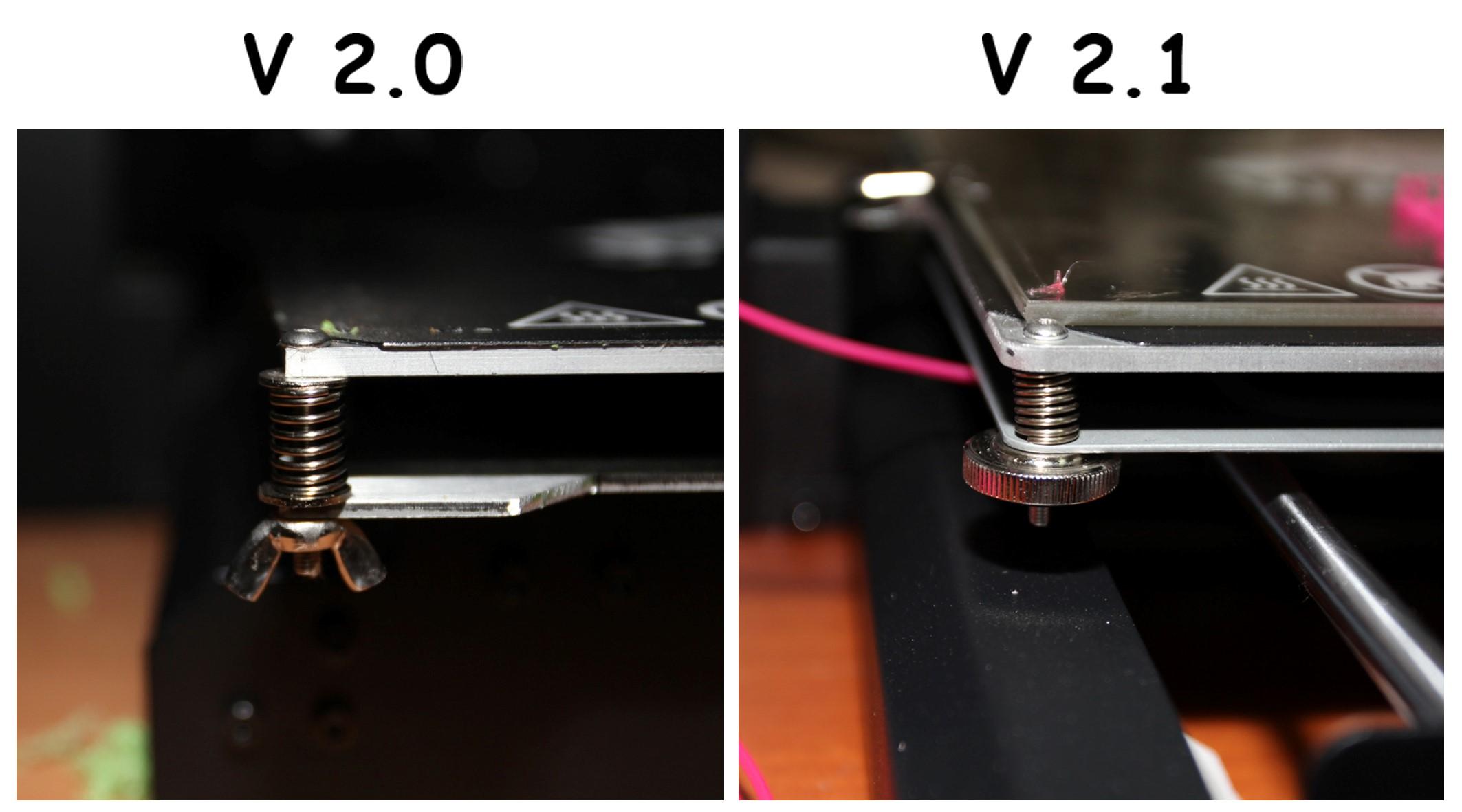 Wanhao v2.1 отличия