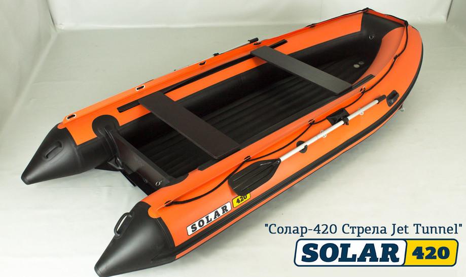 Лодка Солар 420 Jet Тоннельная