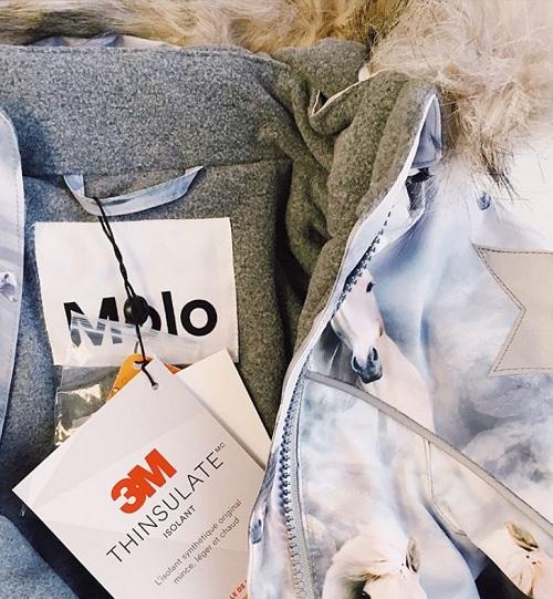 Куртка Molo для девочек Hopla Pony с доставкой в интернет-магазине Мама Любит!