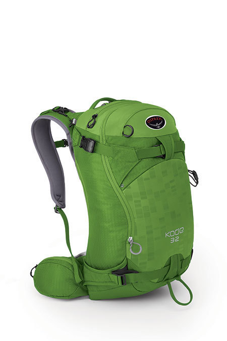 Горнолыжный рюкзак Osprey Kode 32 с креплением для сноуборда
