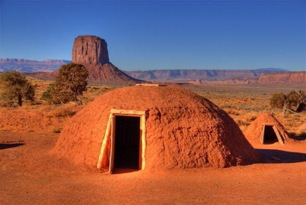 Хорган- жилище индейцев.