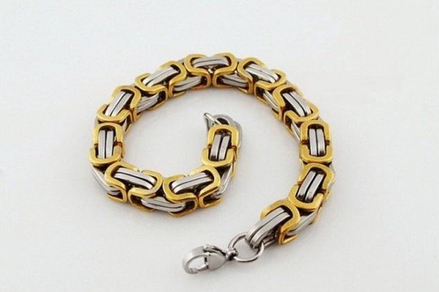 Мужской браслет цепь