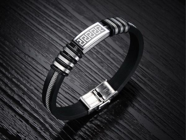 Мужские керамические браслеты