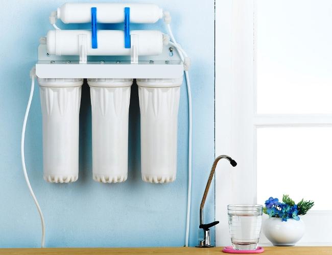 установка фильтров для воды в Тюмени