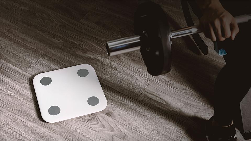 весы белого цвета