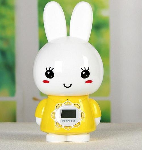 Заяц Alilo G7 Большой желтый с дисплеем в интернет-магазине Мама Любит