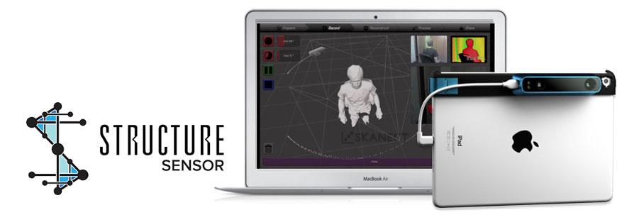 Structure Sensor 3д сканер