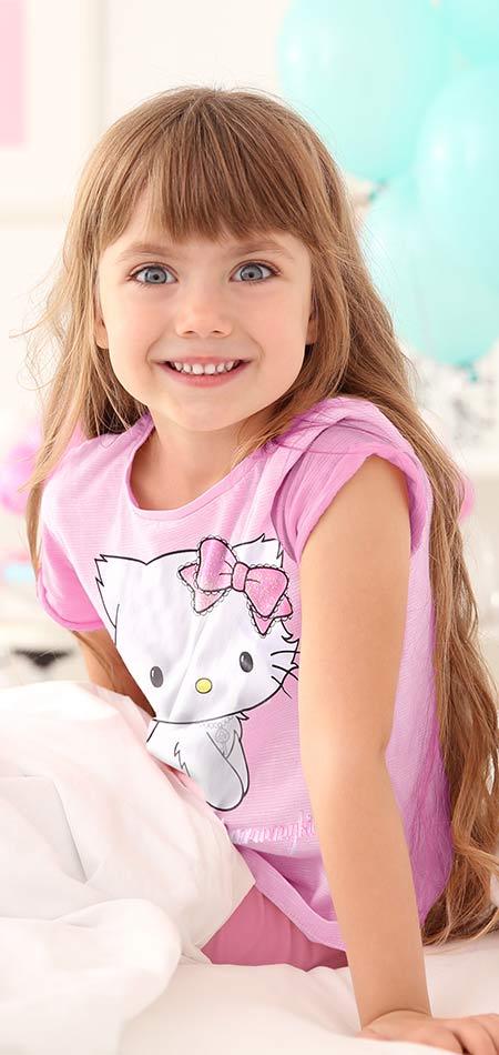 Распродажа одежды для девочек- Китти