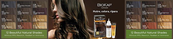 Биокап краска для волос палитра