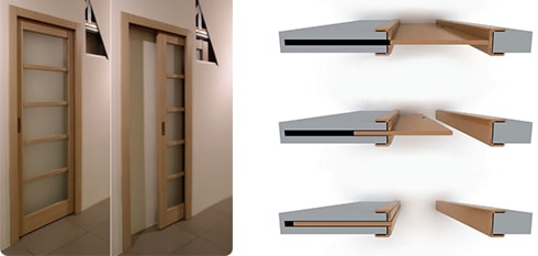 Двери раздвижные пенал
