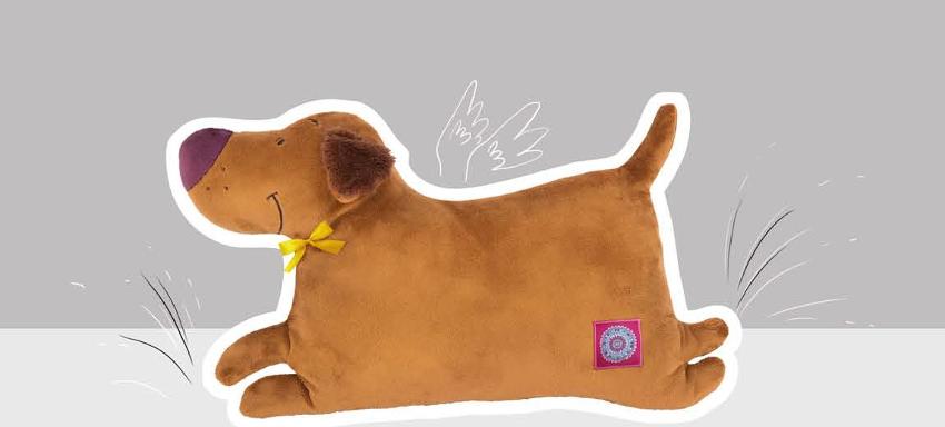 Летящий пес (подушка), BudiBasa