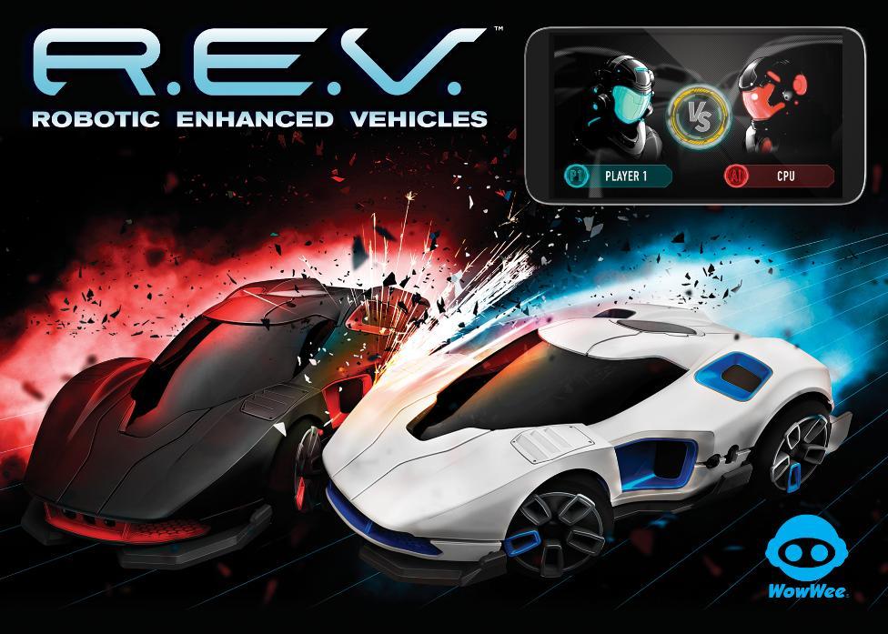 REV 2 Cars Battle