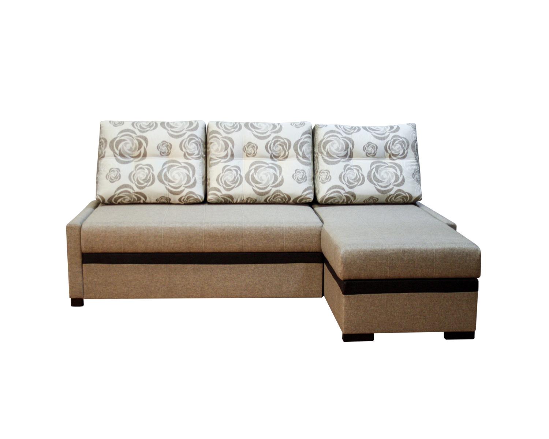 Угловой диван Атланта с маленькими подлокотниками