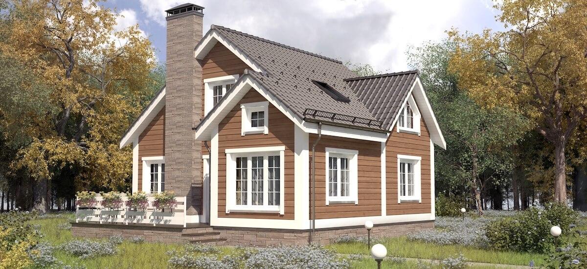 Проекты домов «Коттедж»