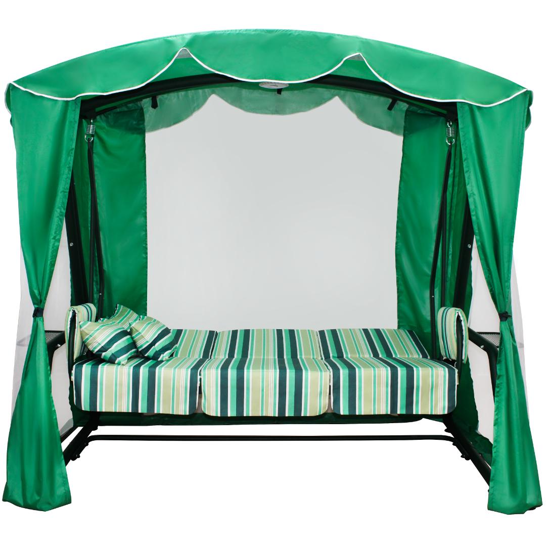 Оазис Люкс зеленый кровать