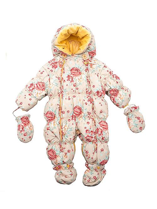 Комбинезон для новорожденных на зиму