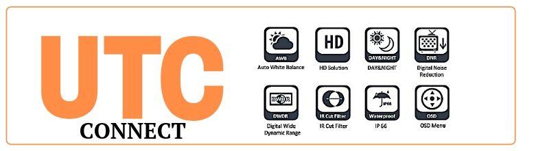 UTC управление видеокамер наблюддения CAICO