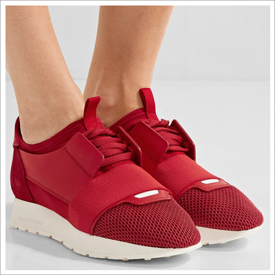 Balenciaga Women's Race Runner Red