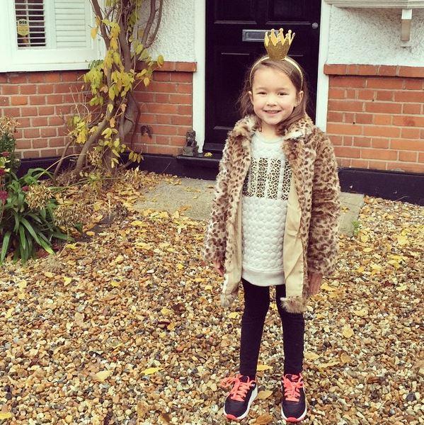 маленькая дочка английского дизайнера украшений Jennifer Loiselle