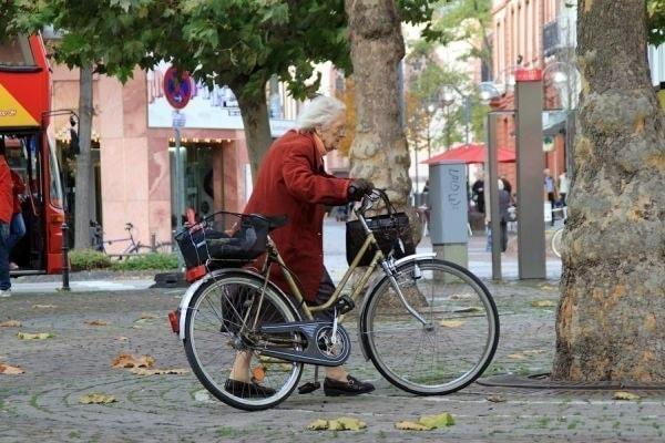 Велосипед для бабушки