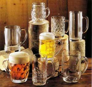 Бокалы для пива купить в магазине Нложка