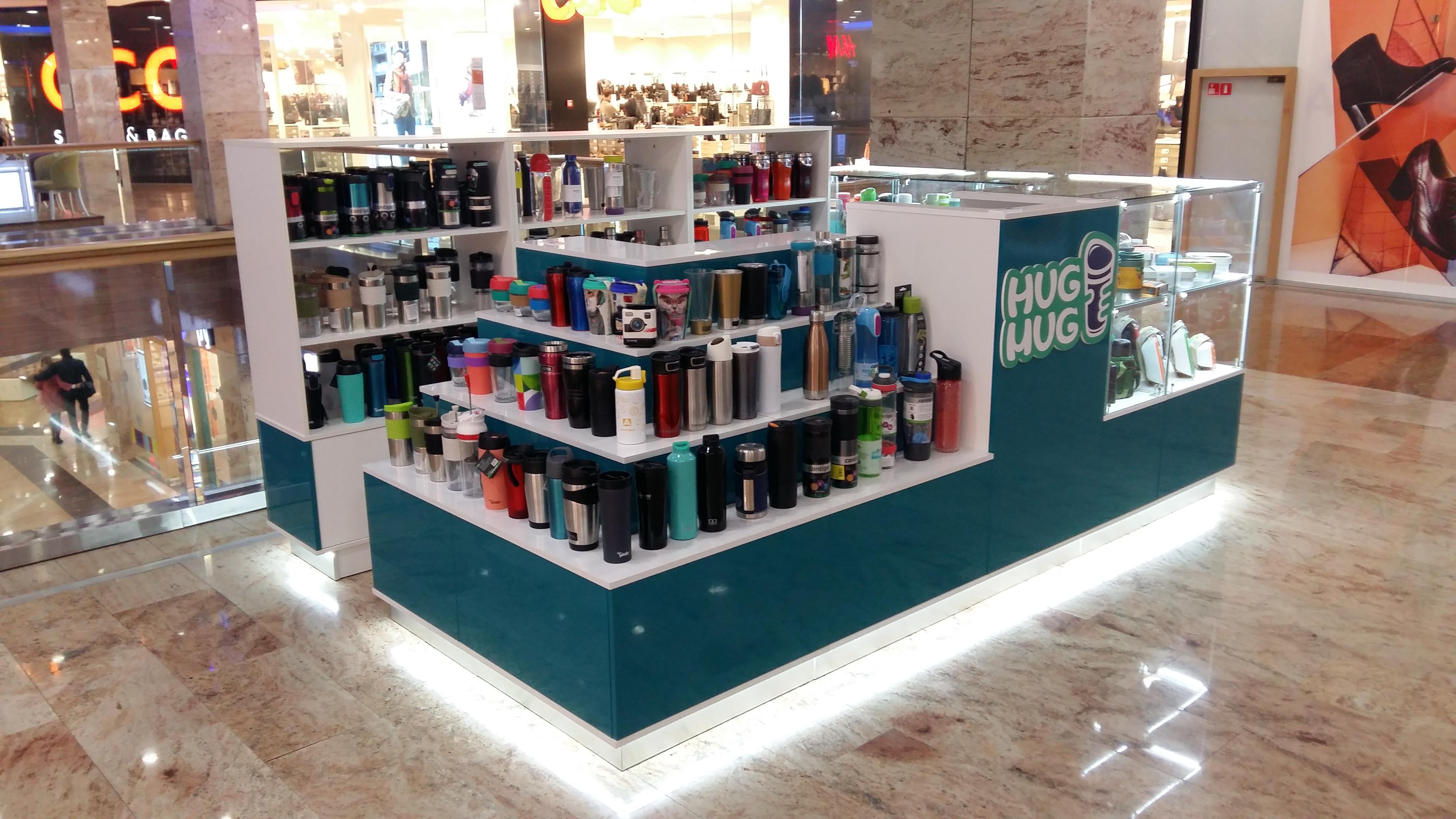 Розничный магазин HugMug в ТРК Райкин Плаза