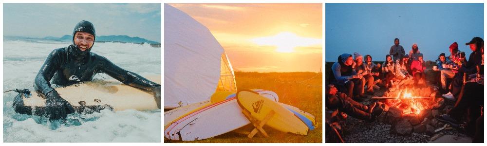 Серф лагерь на Камчатке
