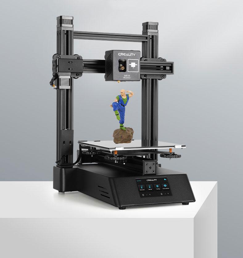 CP-01 с подключенным модулем печати. (Источник: Creality)