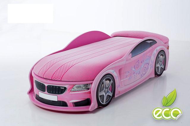детская кровать машинка для девочки