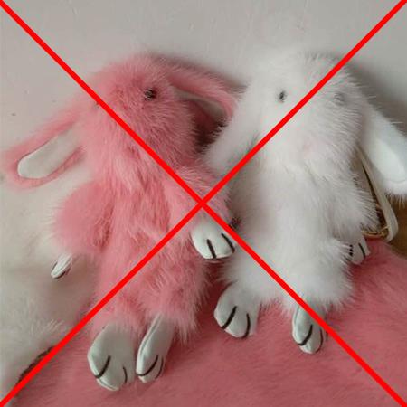 Кролики брелки все цвета