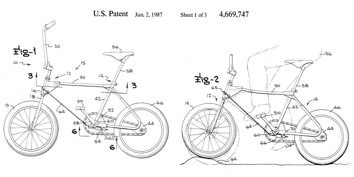 Slingshot patent