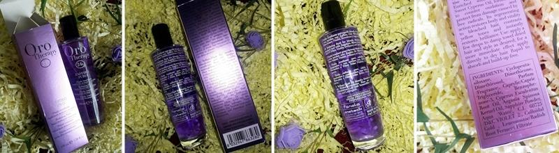 Фотообзор на флюид для светлых волос Fanola