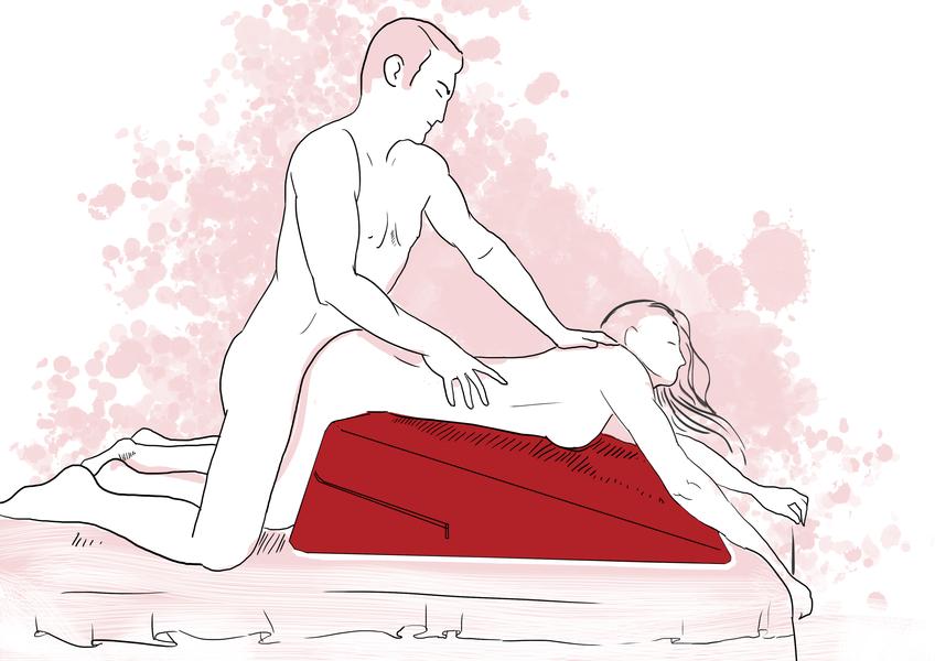 Подушка для секса Ramp  поза 2