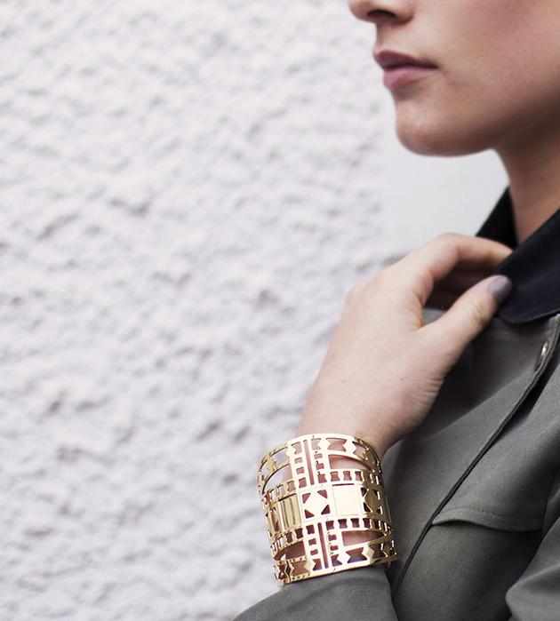 купите массивный браслет-манжета Vassily от Chic Alors-Paris