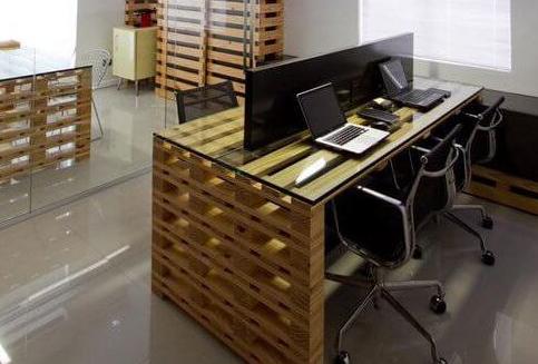 изготовление офисной мебели в стиле лофт на заказ в минске